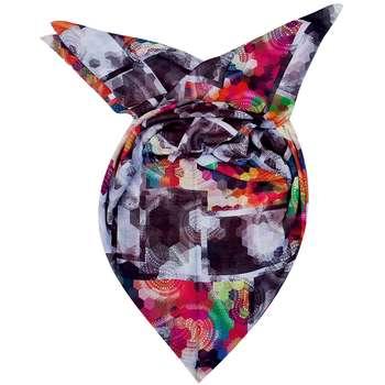 روسری روشا طرح رنگین کمان کد 04