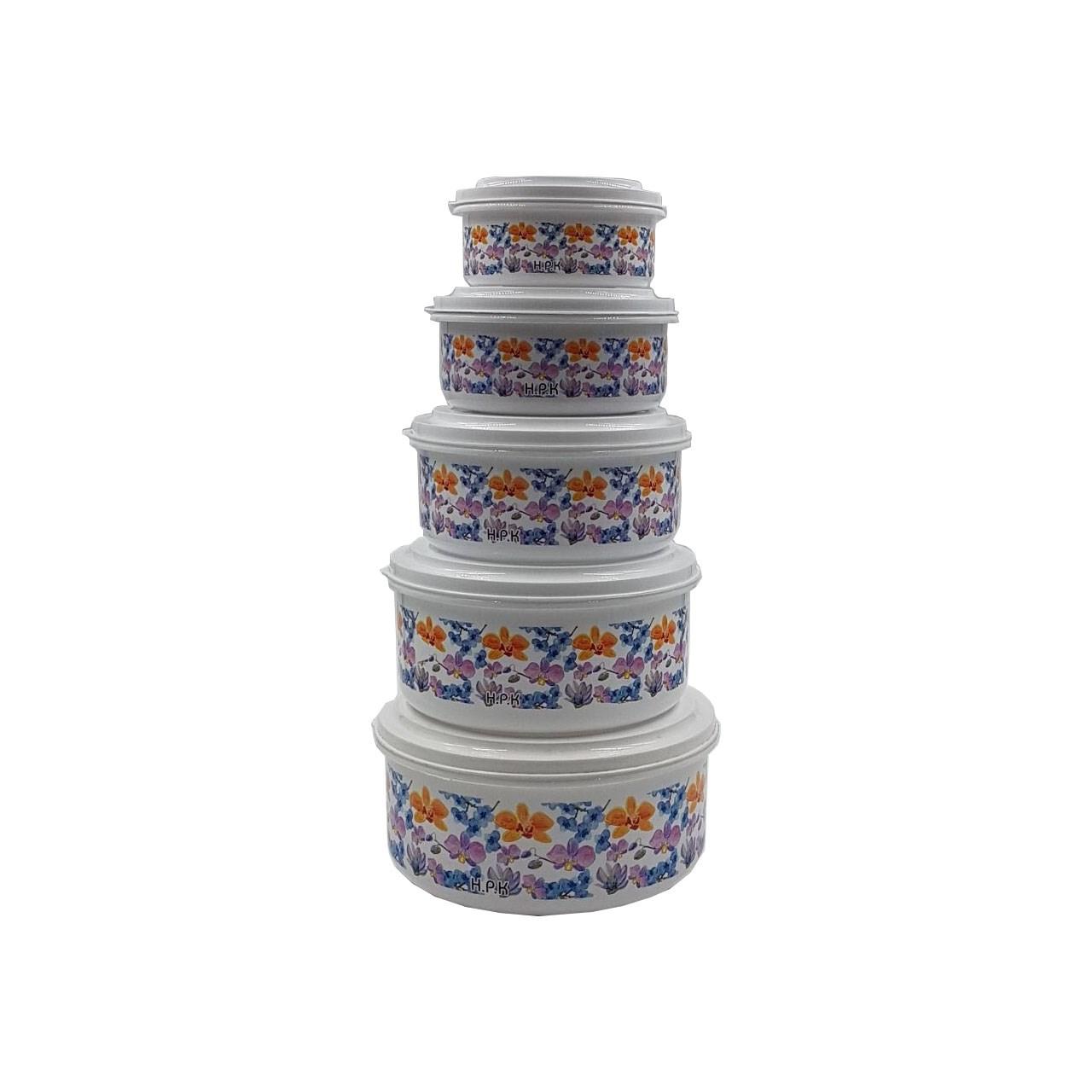 ظرف نگهداری غذا کد A11 بسته 5 عددی