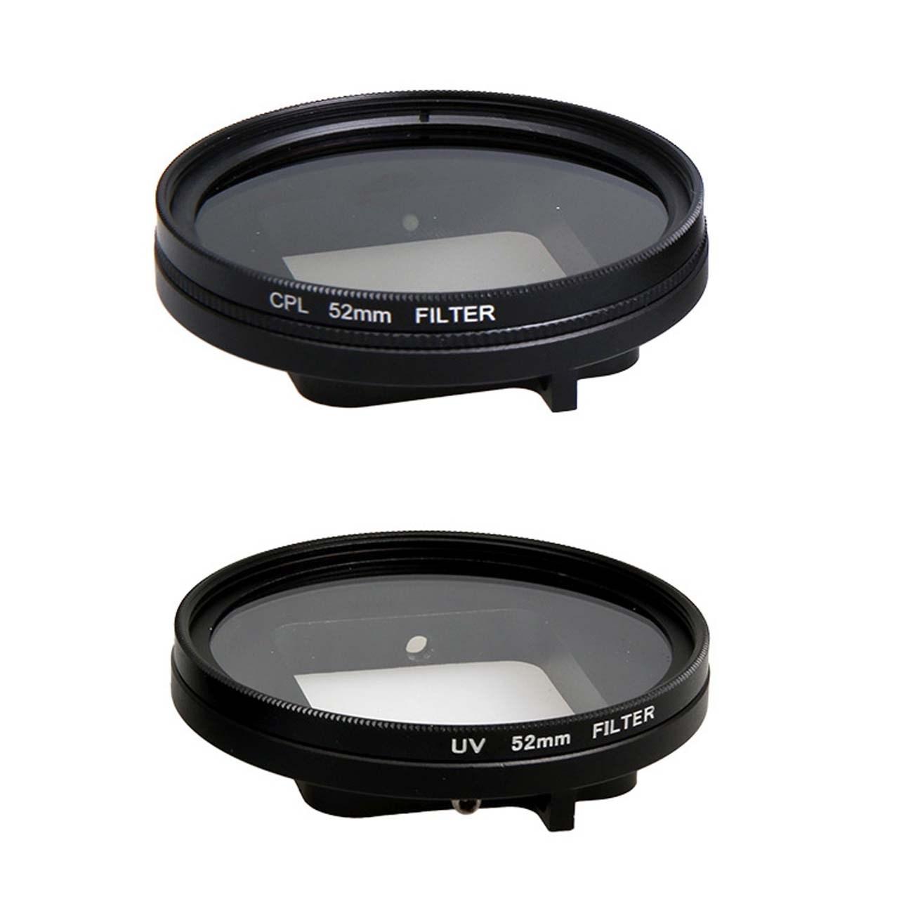 فیلتر لنز پلوز مدل UV مناسب دوربین ورزشی گوپرو هیرو 5/6