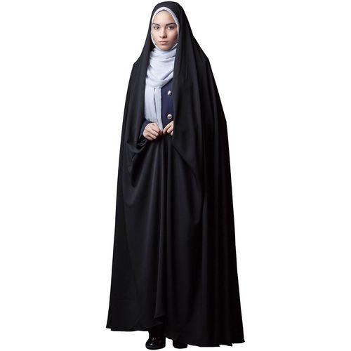 چادر ایرانی کرپ کن کن حجاب فاطمی مدل 201155kn