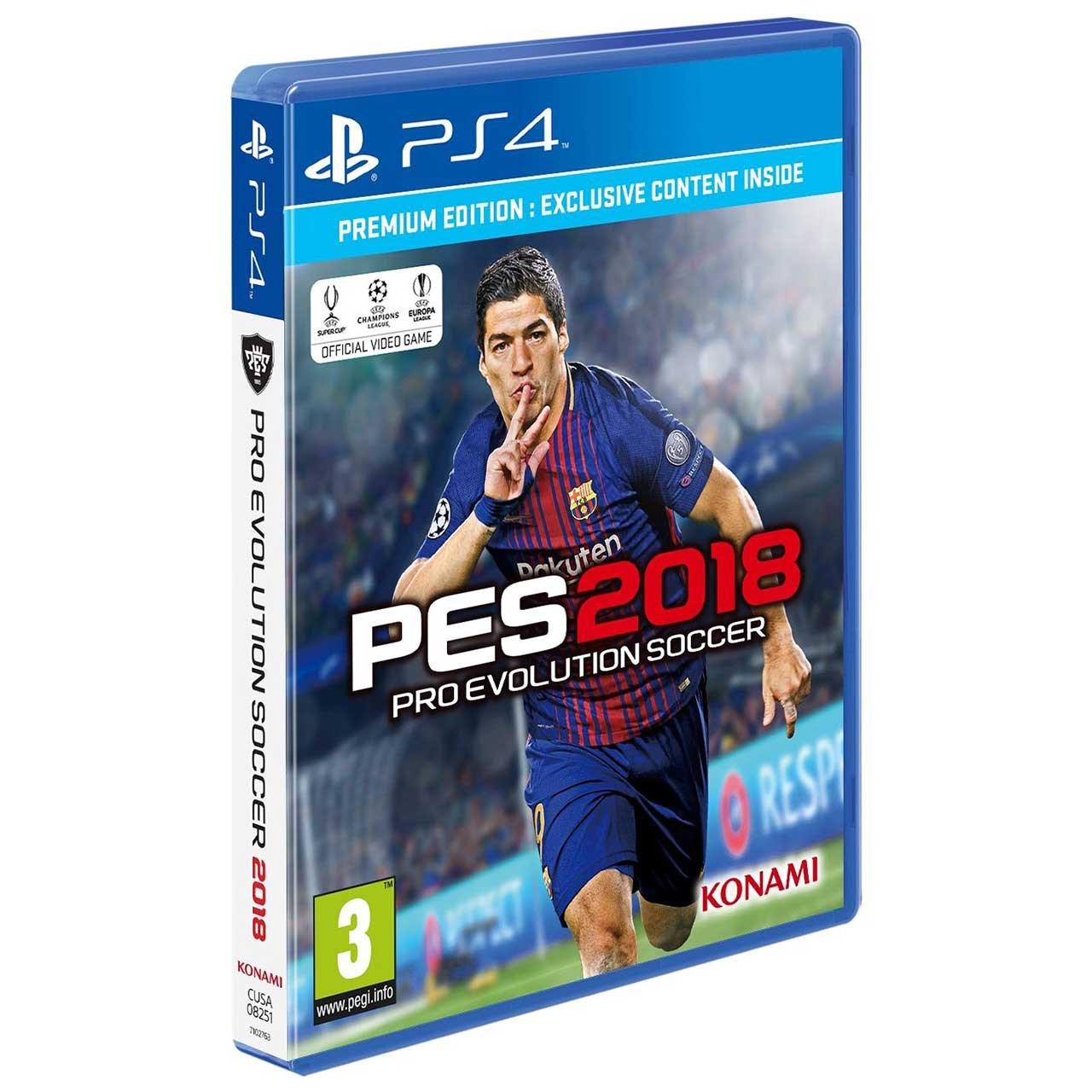 بازی PES 2018 مخصوص PS4