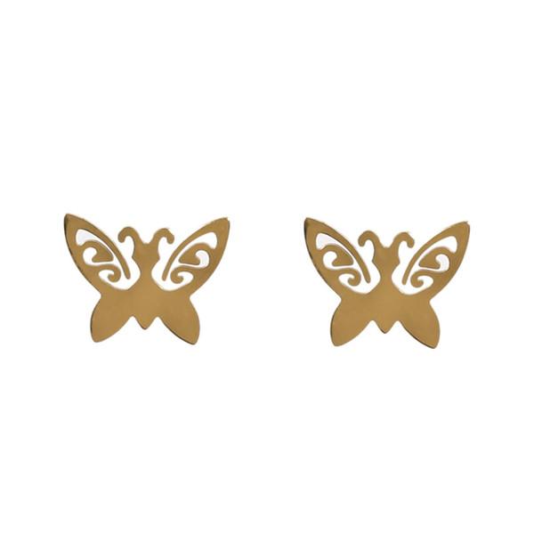 گوشواره سین گالری مدل پروانه لیندا sm273
