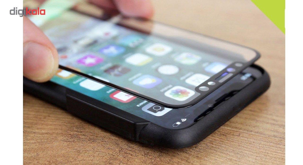 محافظ صفحه نمایش تمام چسب شیشه ای مدل 5D مناسب برای گوشی اپل آیفون X main 1 2