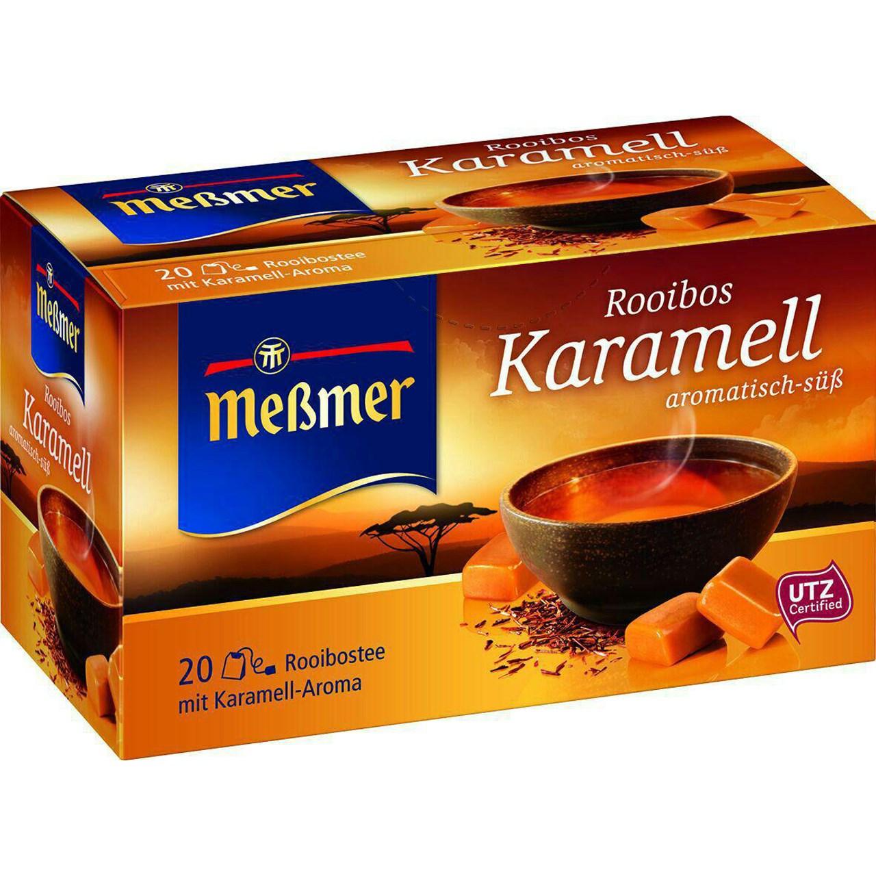 بسته دمنوش گیاهی مسمر مدل Rooibos Karamell aromatisch - sub