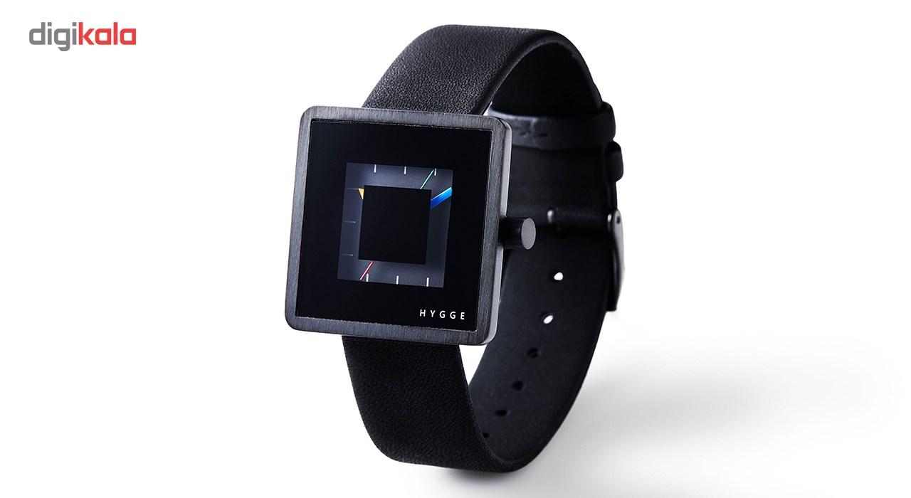 ساعت مچی عقربه ای هیگه مدل 2089 All Black