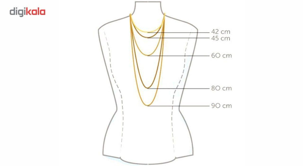 گردنبند طلا 18 عیار ماهک مدل MM0631 -  - 2