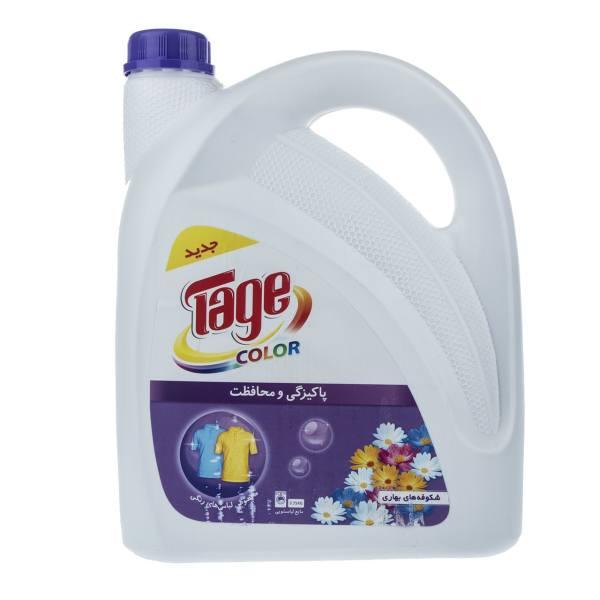 مایع لباسشویی رنگی تاژ مقدار 3750 گرم