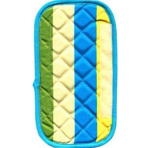 دستگیره یخچال کتان 30 × 15 رزین تاژ طرح رابید آبی