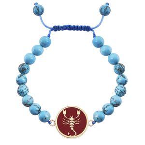 دستبند طلا 18 عیار مرجان مدل0719