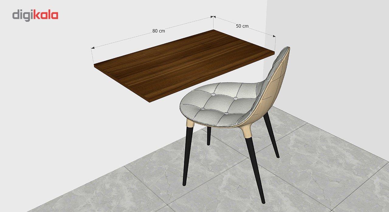 میز تحریر تاشو دیواری کاردینو مدل غزل main 1 4