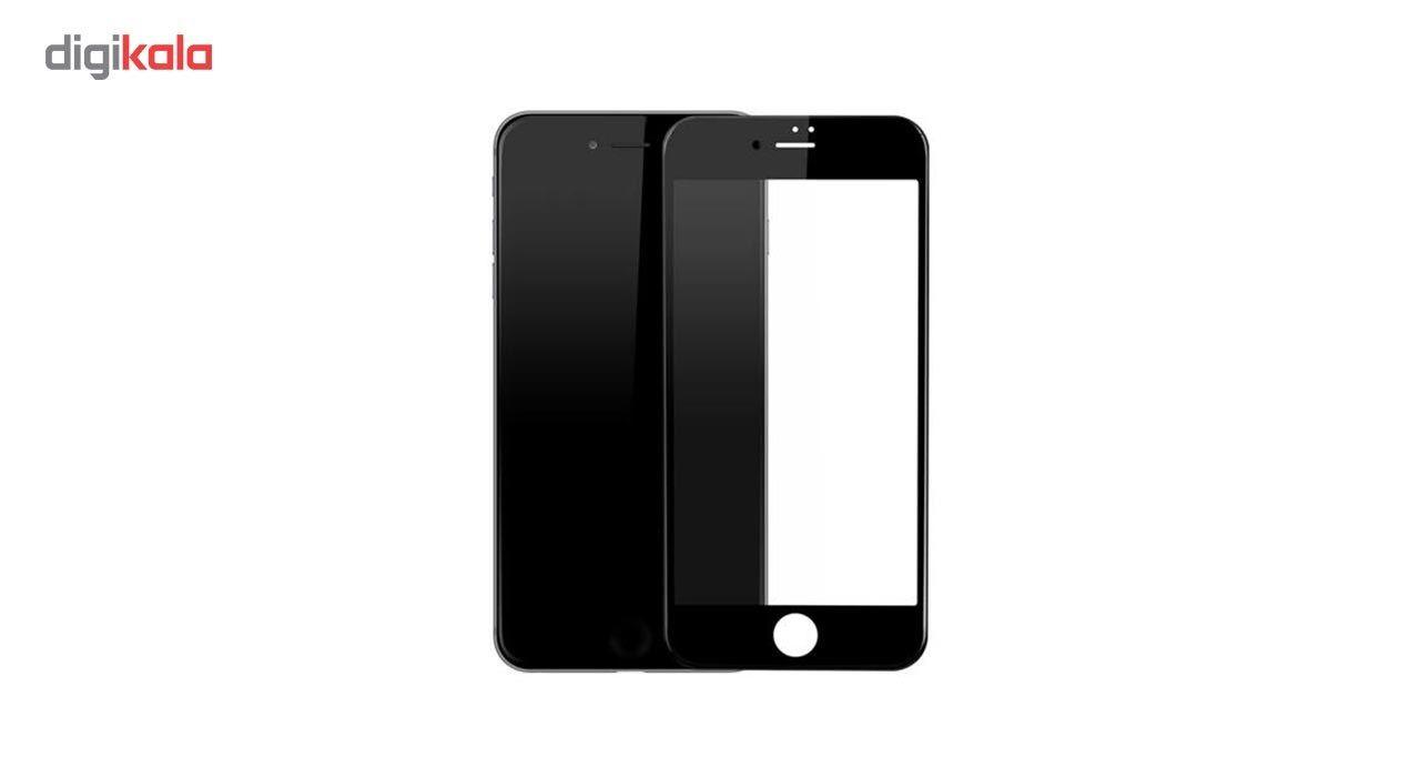 محافظ صفحه نمایش شیشه ای مدل Full Cover Tempered مناسب برای گوشی اپل آیفون 8/7 main 1 1