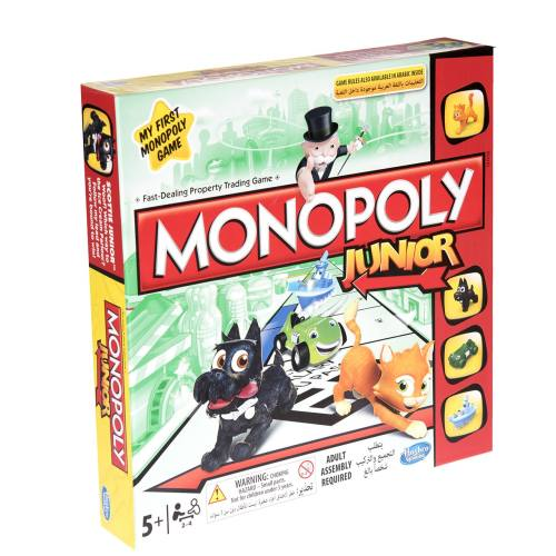 بازی فکری هاسبرو مدل  Monopoly Junior