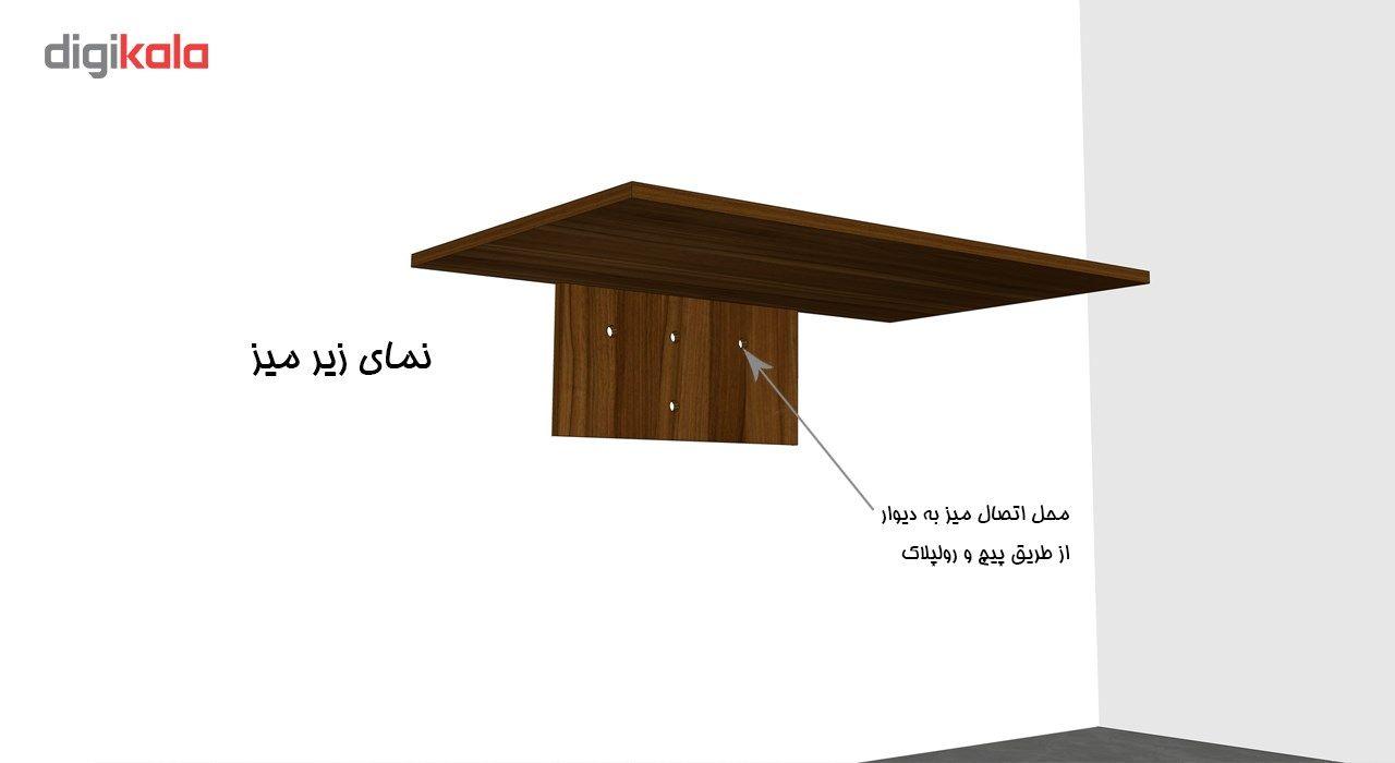 میز تحریر تاشو دیواری کاردینو مدل غزل main 1 3