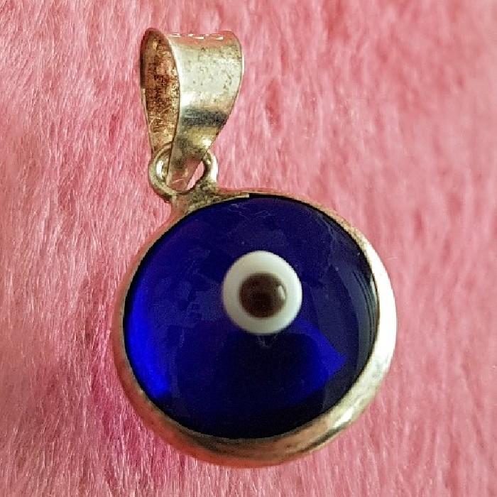 آویز گردنبند نقره زنانه مدل چشم نظر کد P22