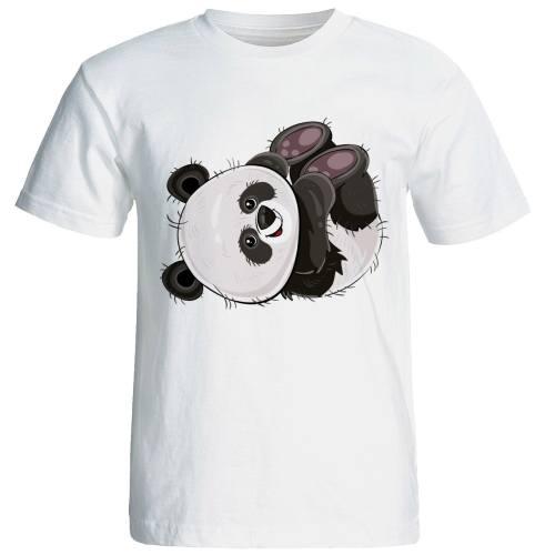 تیشرت  آستین کوتاه  شین دیزاین طرح  پاندا  کد4177