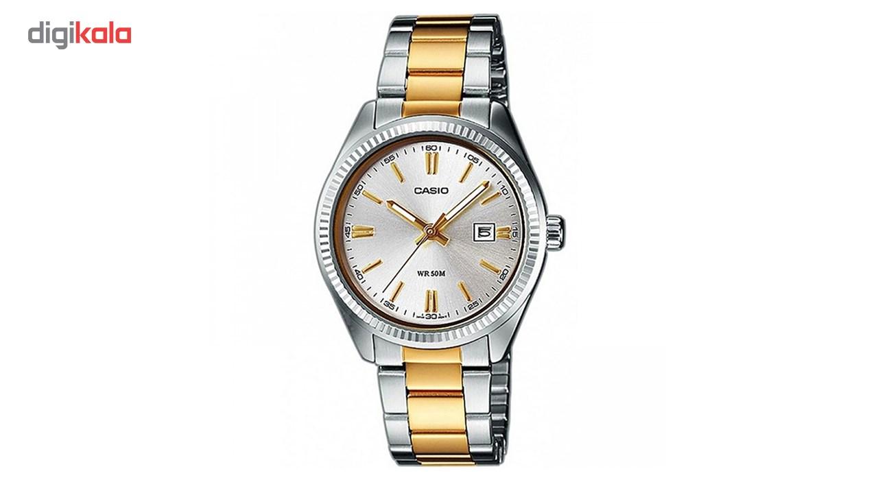 ساعت مچی عقربه ای زنانه کاسیو مدل LTP-1302SG-7AVDF              ارزان