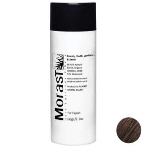 پودر پرپشت کننده موی مورست مدل Dark Brown مقدار 60 گرم