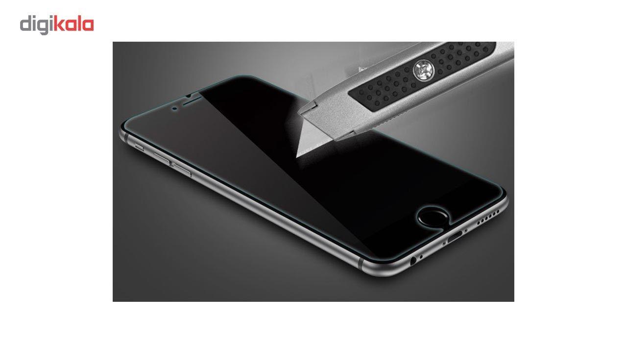 محافظ صفحه نمایش شیشه ای مدل Full Cover Tempered مناسب برای گوشی اپل آیفون 8/7 main 1 2