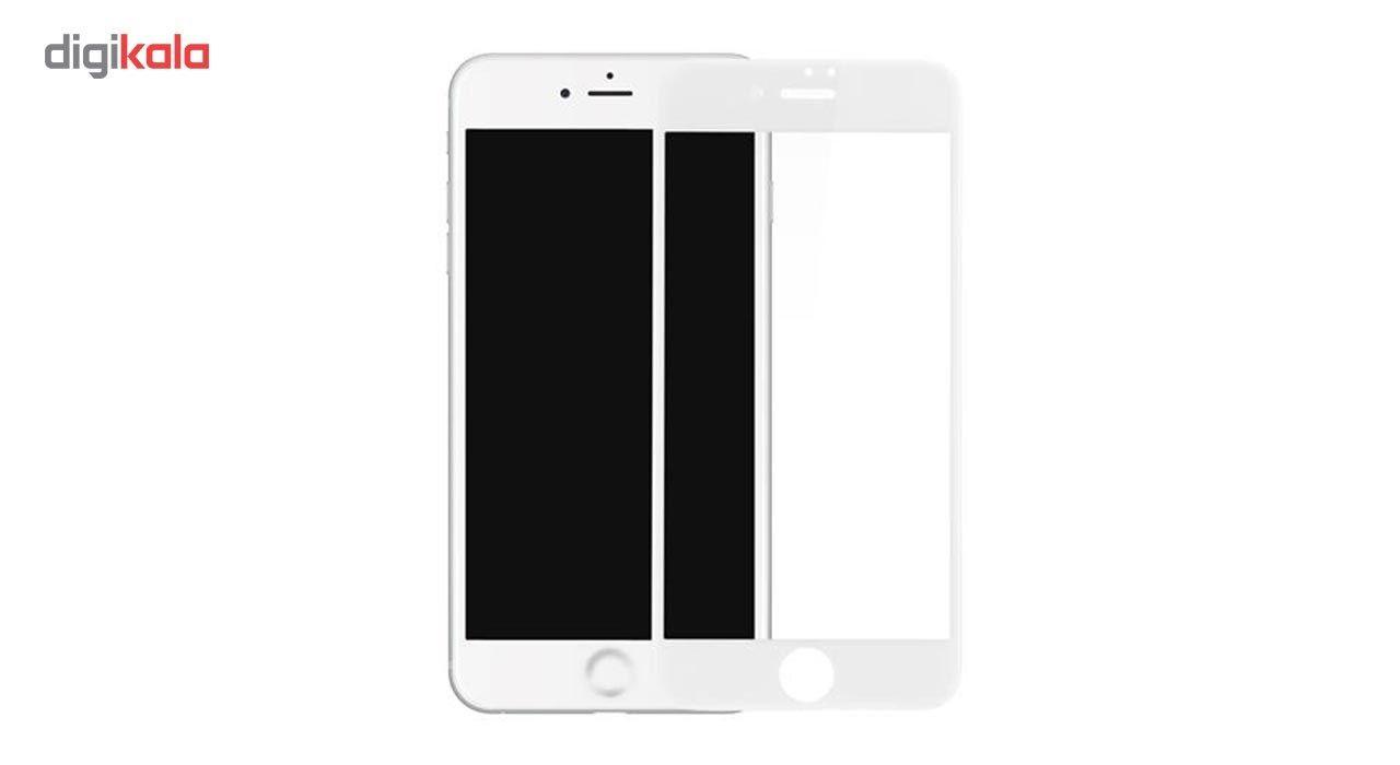 محافظ صفحه نمایش شیشه ای مدل Full Cover Tempered مناسب برای گوشی اپل آیفون 8/7 main 1 3