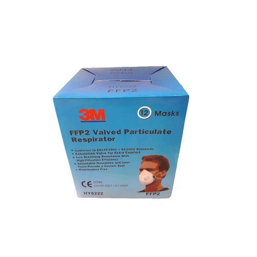 ماسک تنفسی فیلتر دار  3M مدل HY8222 بسته 12 عددی