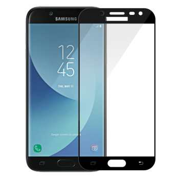 محافظ صفحه نمایش تمپرد مدل فول چسب مناسب برای گوشی موبایل سامسونگ Galaxy J5 Pro