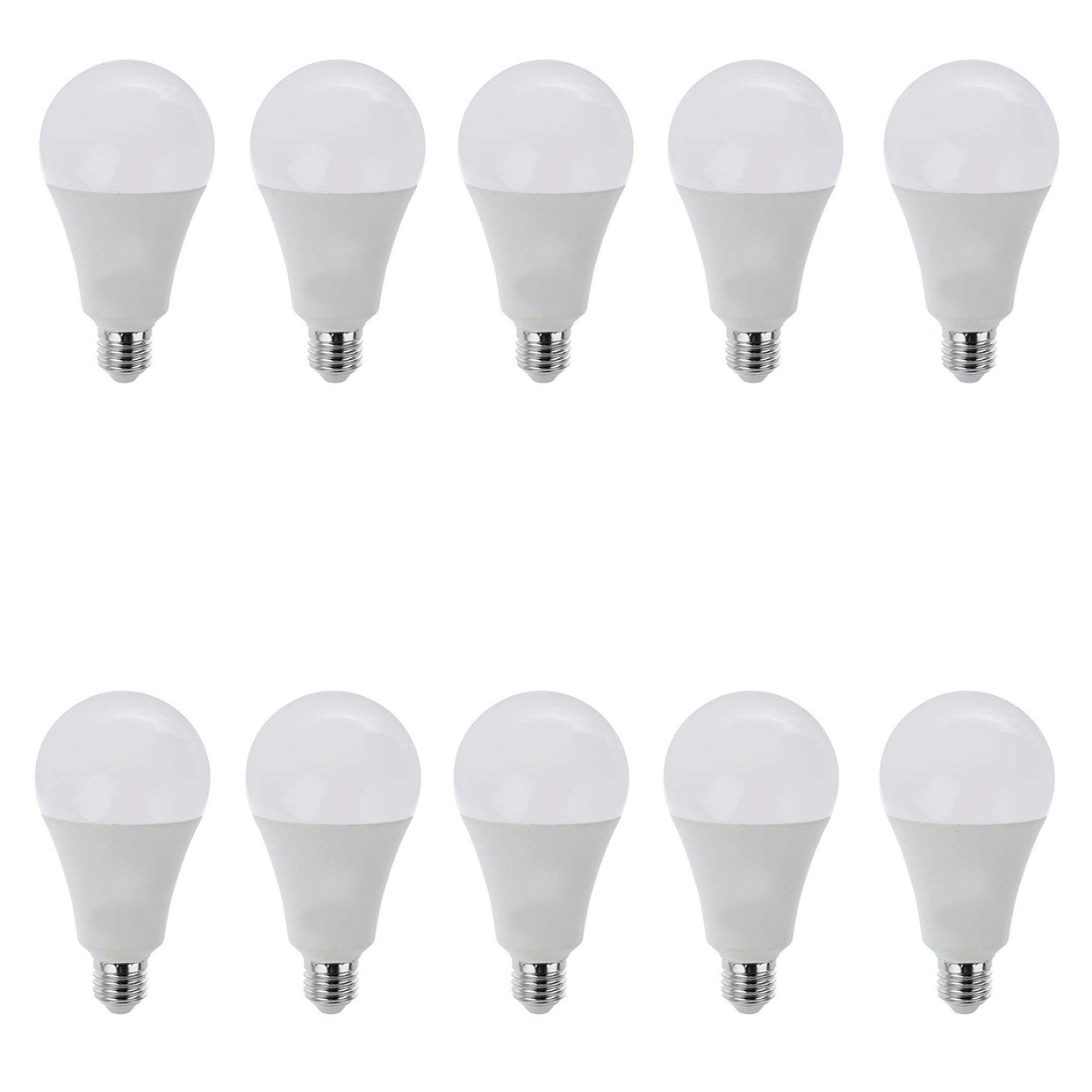 لامپ ال ای دی 18 وات پارسه شید کد 001 پایه E27 بسته 10 تایی