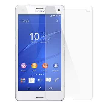 محافظ صفحه نمایش شیشه ای مدل Tempered مناسب برای گوشی موبایل سونی Xperia Z3 Compact