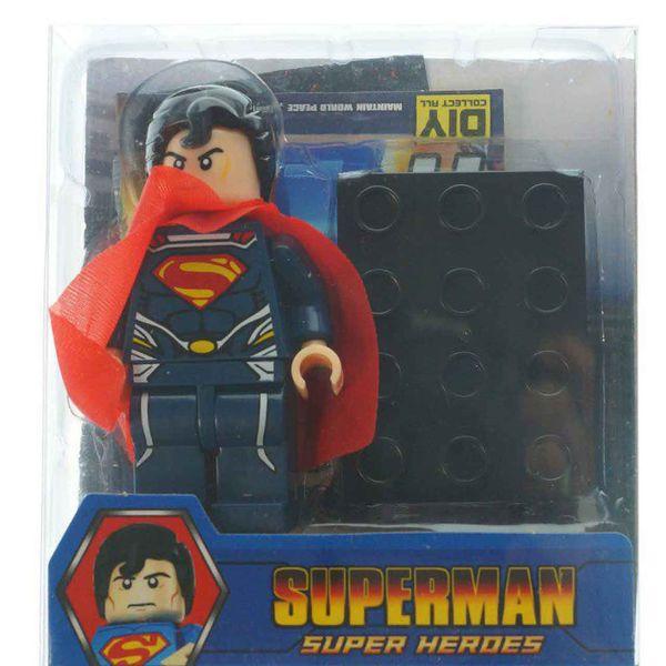 ساختنی لگو سری Super Man مدل Super Heroes