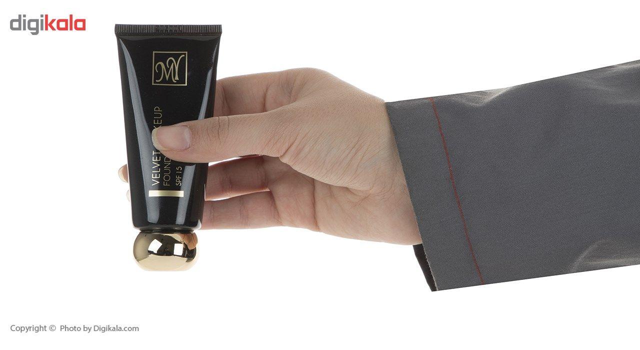 کرم پودر مای سری Black Diamond مدل Velvet Makeup شماره 02 main 1 4
