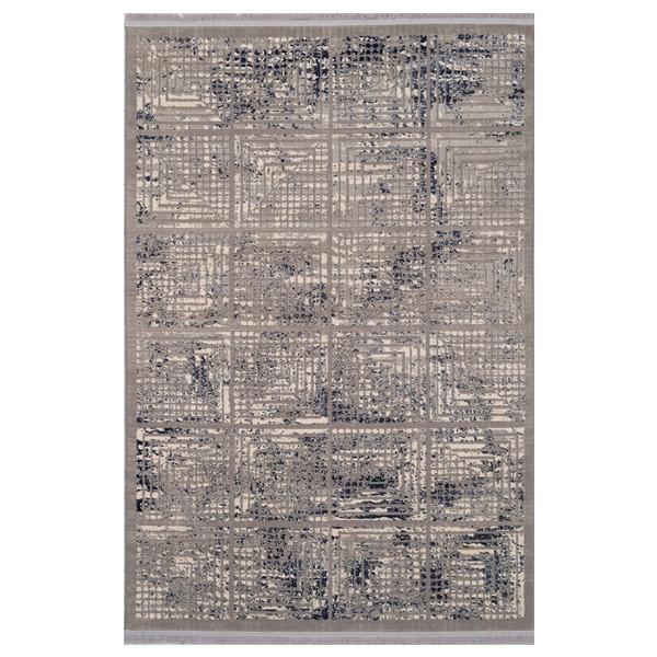 فرش ماشینی برسام کد 6502 زمینه طوسی