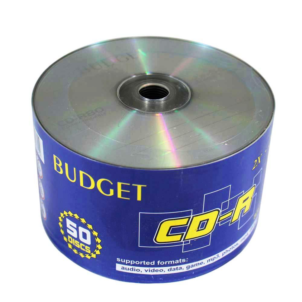 سی دی خام باجت مدل R80 بسته 50 عددی