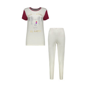 ست تی شرت و شلوار زنانه مدل 358135201