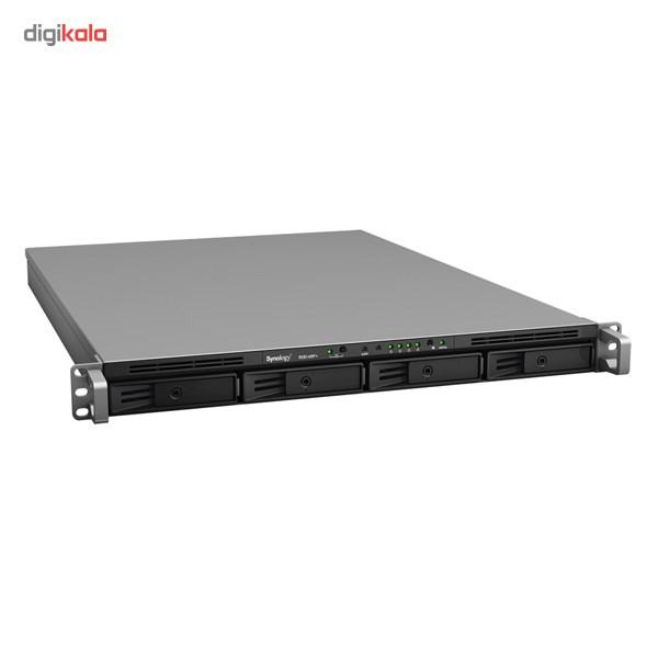 ذخیره ساز تحت شبکه 4Bay سینولوژی مدل رک استیشن +RS814