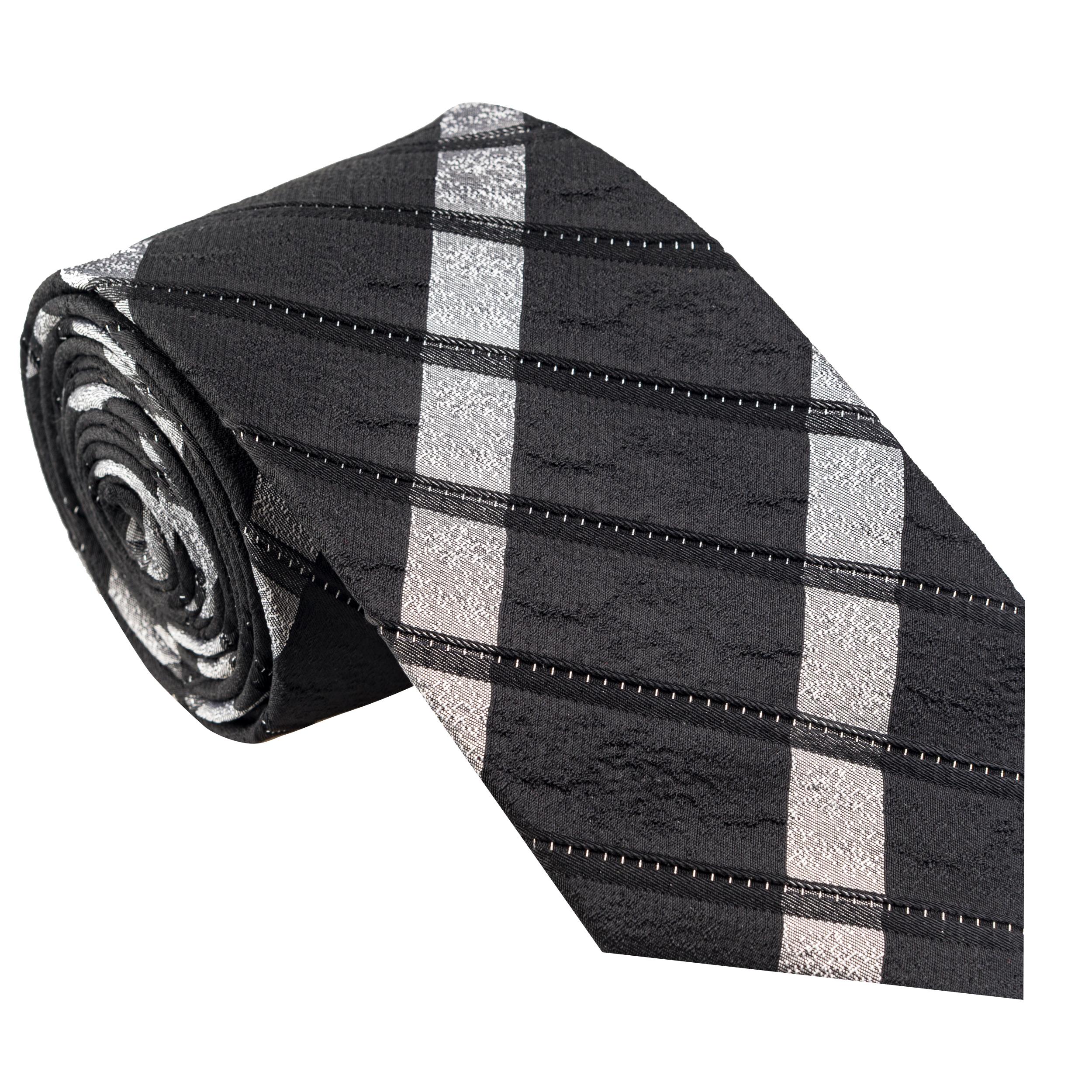 کراوات مردانه جیان فرانکو روسی مدل GF-ST501-BK