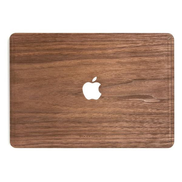 کاور چوبی وودسسوریز مدل Apple Logo مناسب برای مک بوک پرو رتینا 13 اینچی