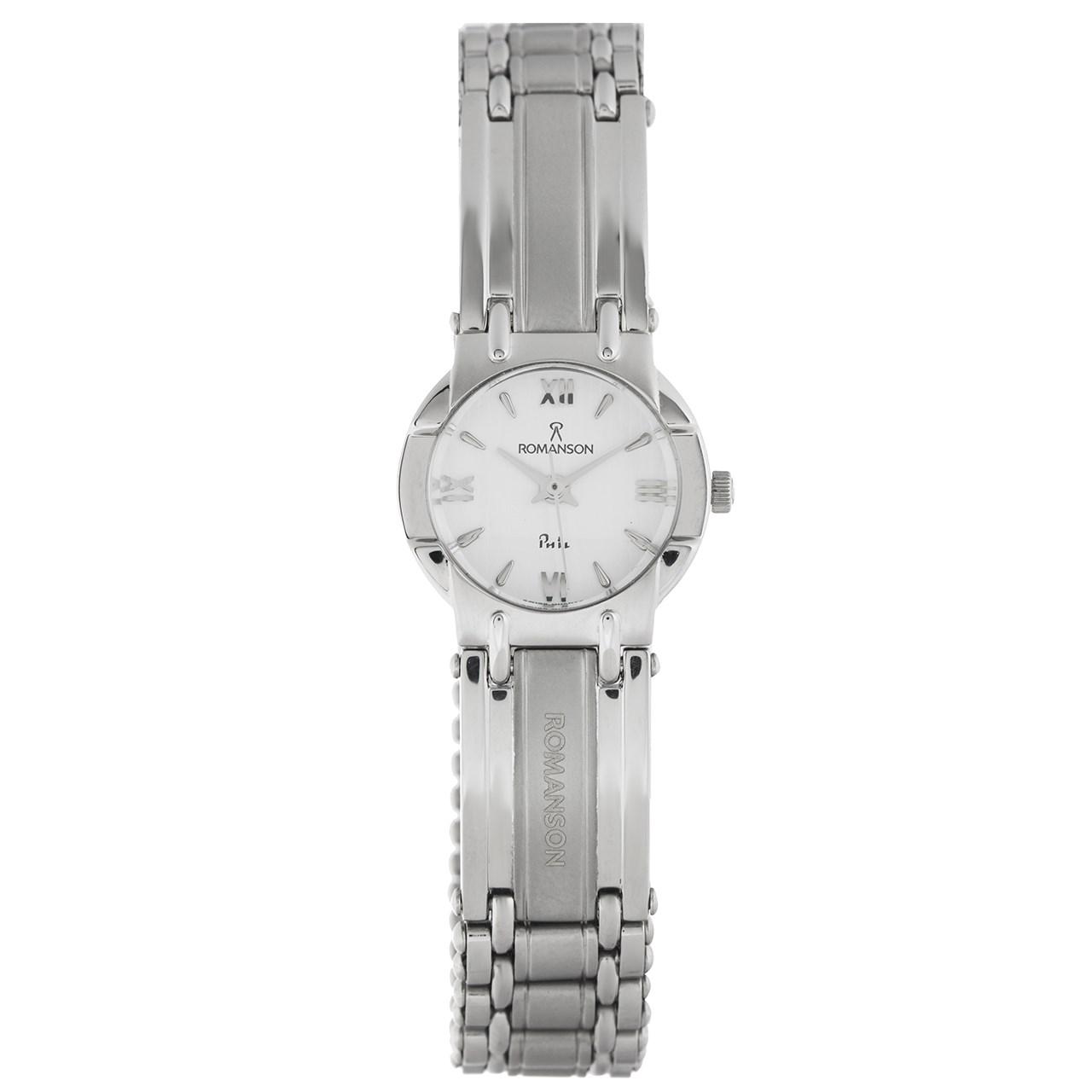 ساعت مچی عقربه ای زنانه رومانسون مدل NM0545LL1WA11W 11