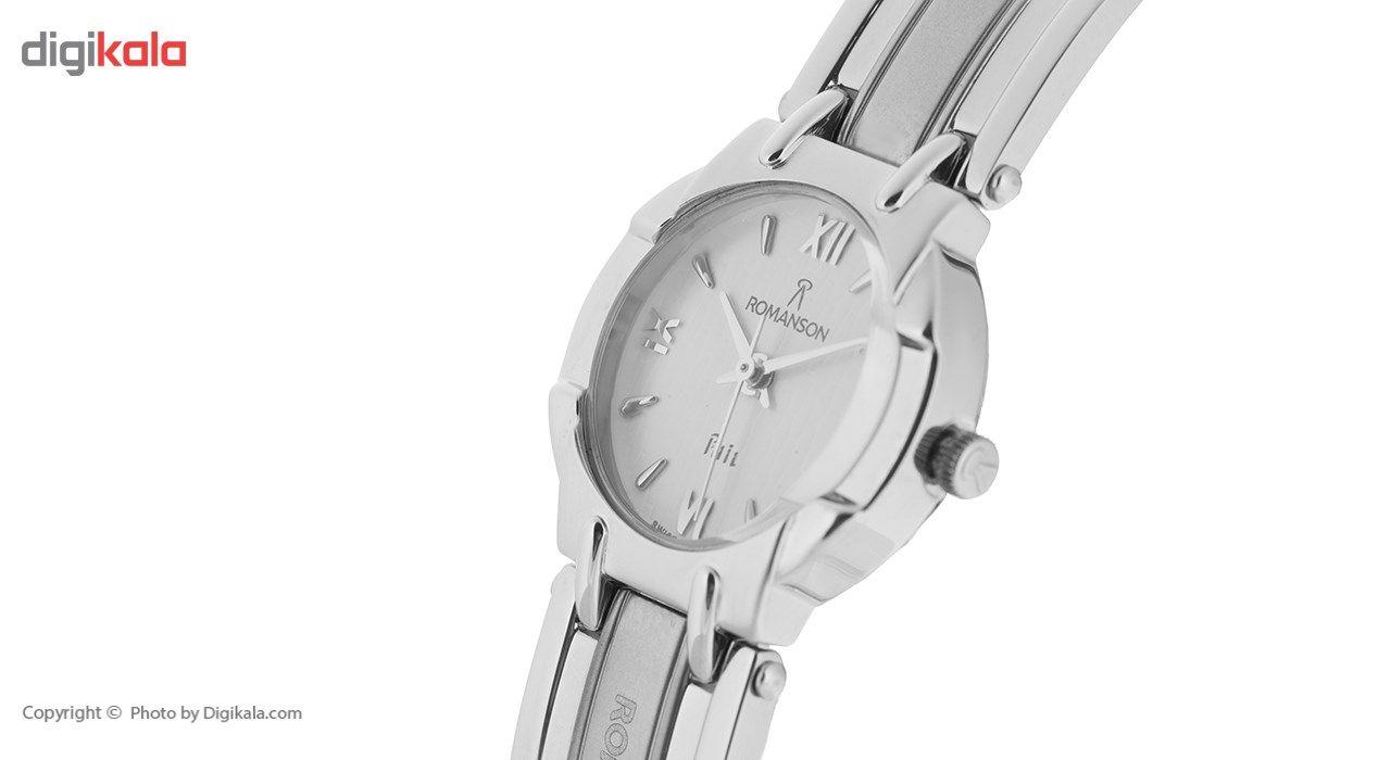 ساعت مچی عقربه ای زنانه رومانسون مدل NM0545LL1WA11W -  - 3