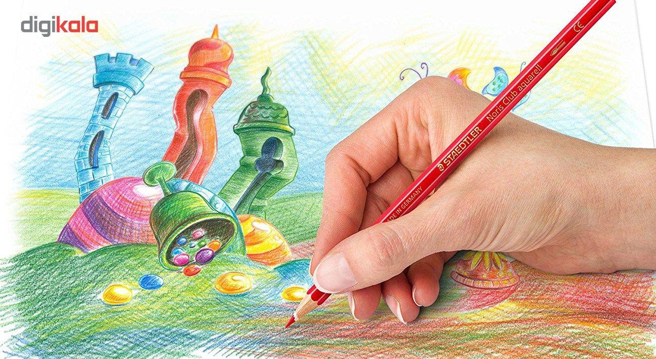 مداد رنگی 24 رنگ استدلر مدل Noris Club main 1 3