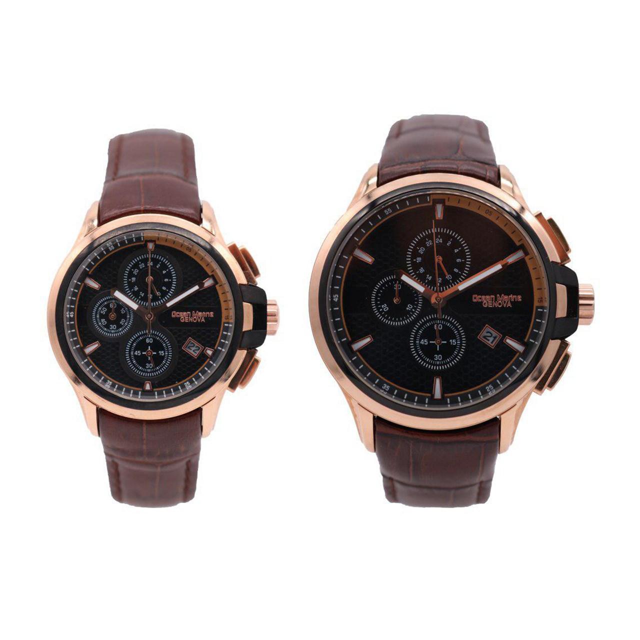 ساعت ست مردانه و زنانه اوشن مارین مدل Z-318Gb2 و Z-318Lb2