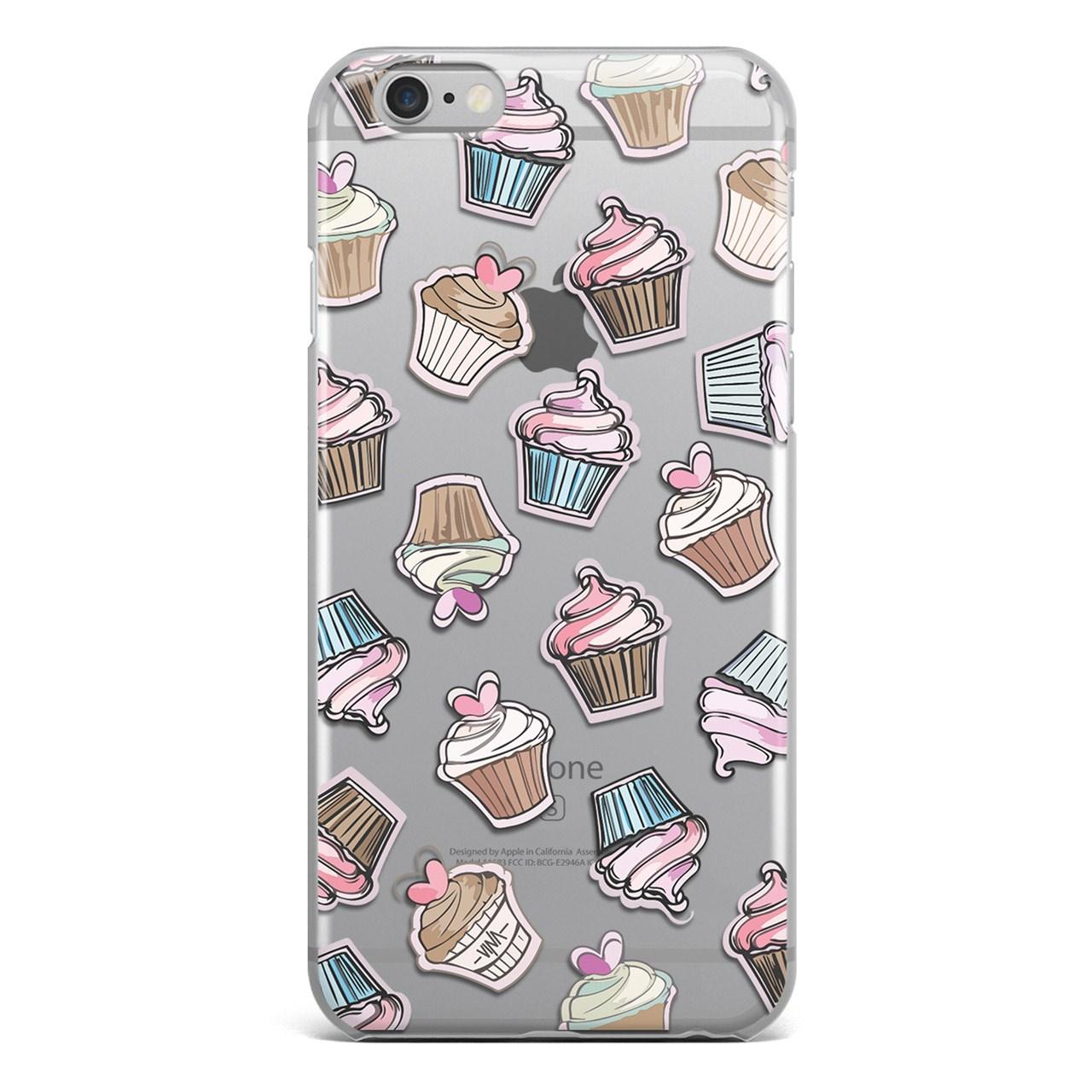 کاور سخت  مدل Cupcake مناسب برای گوشی موبایل آیفون6plus  و 6s plus