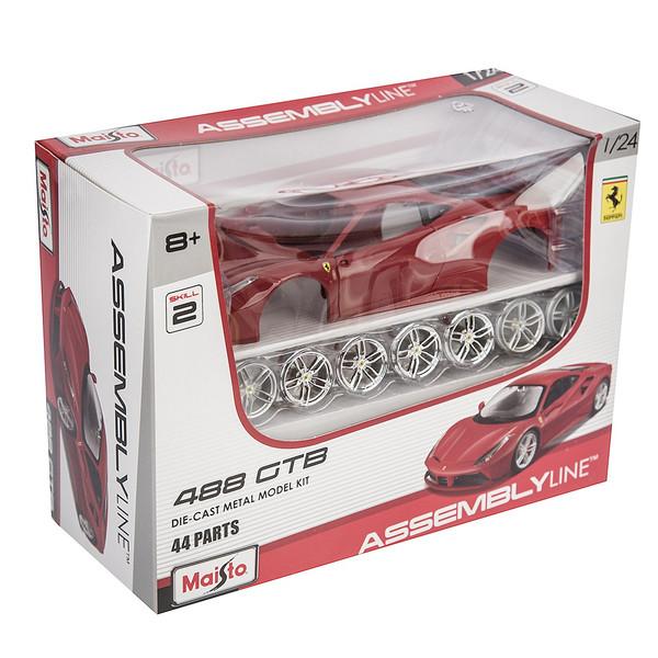 ساختنی مایستو مدل Ferrari 488 GTB