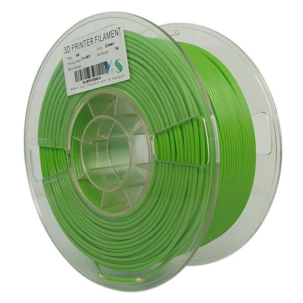 فیلامنت پرینتر سه بعدی ABS  یوسو  سبز   1.75 میلیمتر  1 کیلو
