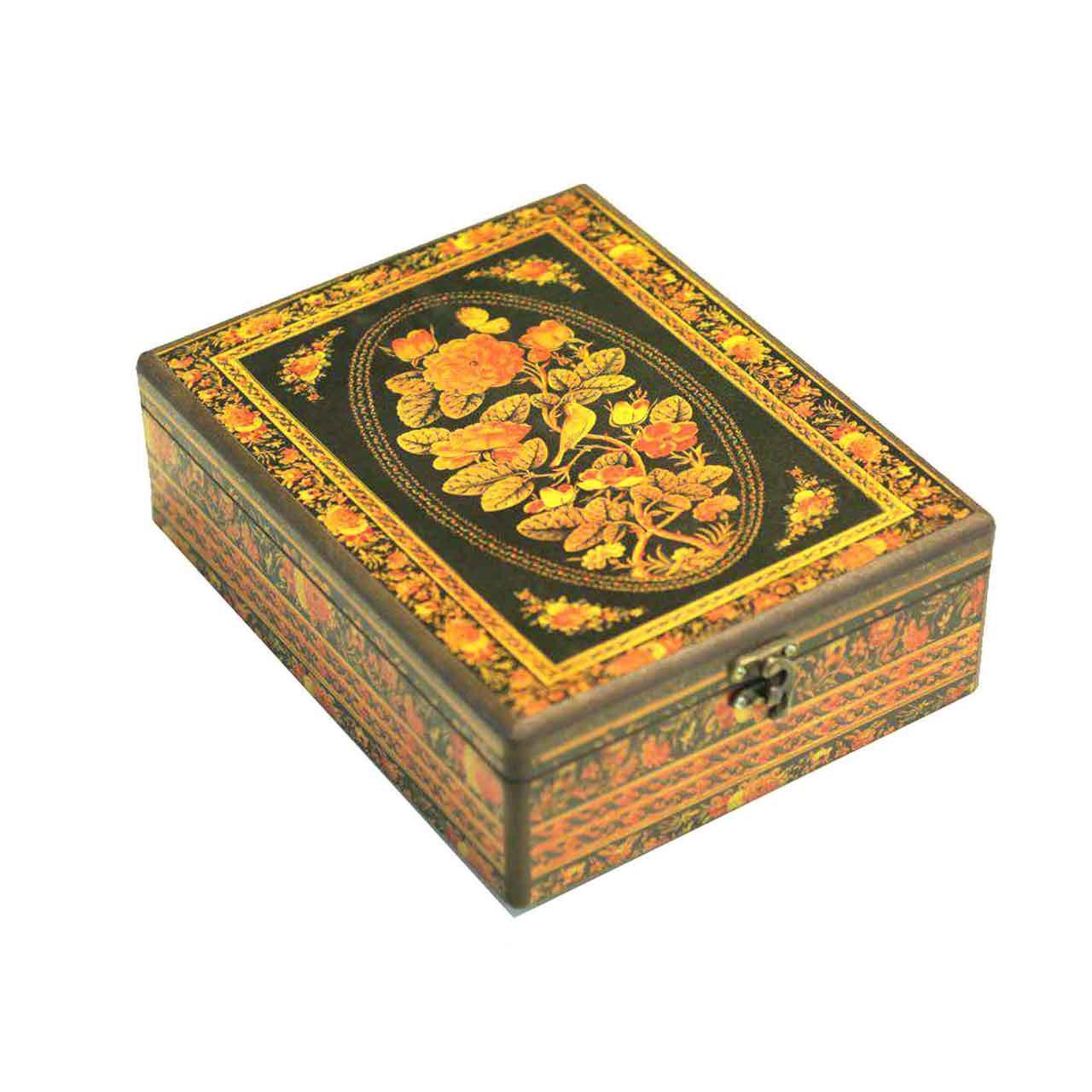 جعبه جواهرات وندا طرح چکاوک