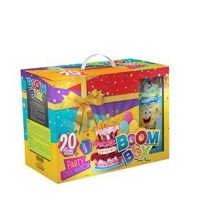 پک جشن تولد بوم باکس مدل Sponge Bob