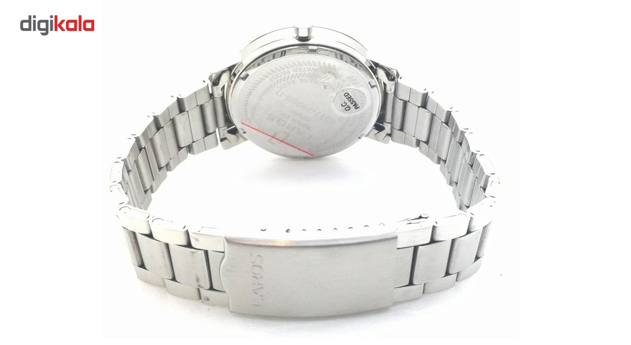 ساعت مچی عقربه ای مردانه لاروس مدل LM-N371-White