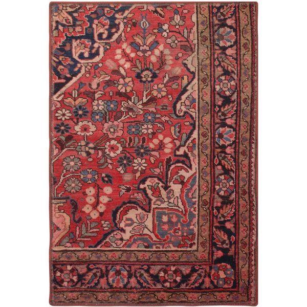 فرش قدیمی یک متری فرش هریس کد 100752