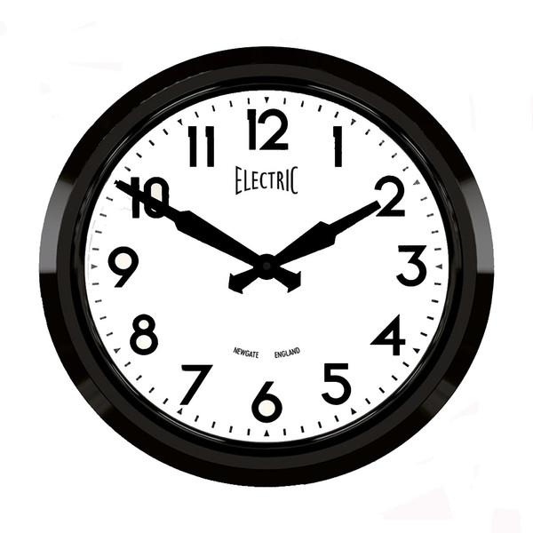 ساعت دیواری نیوگیت مدل Black Electric 50