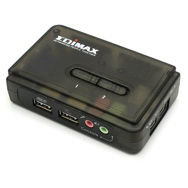 سوییچ 2 پورت USB KVM ادیمکس مدل EK-UAK2