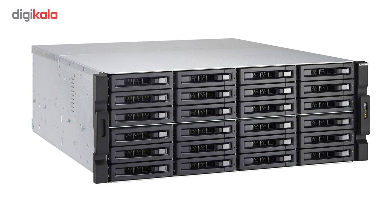 ذخیره ساز تحت شبکه کیونپ مدل TVS-EC2480U-SAS-RP-8GE-R2-US