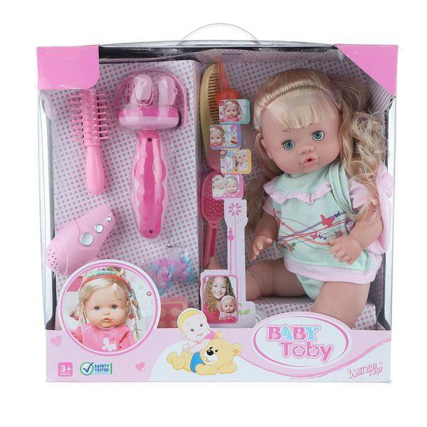 عروسک وی تای تویز مدل Baby Toby 30701-1 ارتفاع 35 سانتی متر